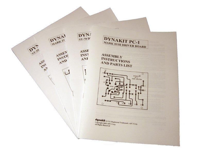 DYNAKIT PC Board Manuals