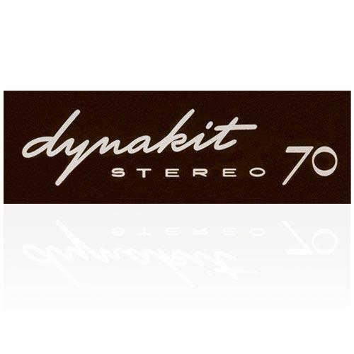 DYNAKIT ST-70 LABEL